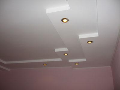 Монтаж гипсоволокна (ГВЛ) на потолок